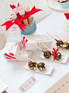 A Merry Little Christmas Haute Chocolate Bar