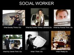 No one understand social work except for another social worker....