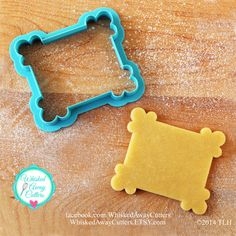 WHISKED AWAY CUTTERS...I like her shapes  Most cost $4-8.00  depending... 2pricey for me.  But, if there was one or two specifics I wanted, I may get them.    ((https://www.etsy.com/shop/whiskedawaycutters))   The Jenn Plaque Cookie Cutter - Two Sizes - Blue or Aqua