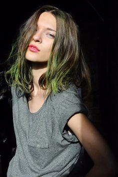 Green ombre. Hmmm