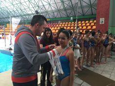 Gran participación en la competición de nado sincronizado de la Olimpiada Municipal | El Puntero