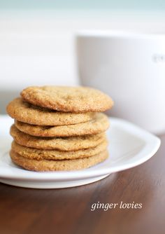 ginger lovie cookies