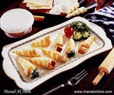 Labneh Cones Recipe
