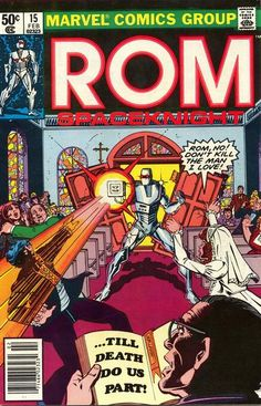 Rom: Space Knight # 15 by Bob Layton