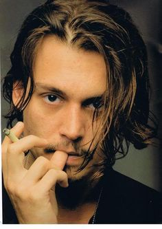 Johnny by Annie Leibovitz