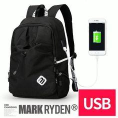 Backpack Student College Waterproof Nylon Backpack Men Women Laptop Bag  School Backpack Laptop Bag 5a027d19f91bc