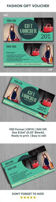 52 best Gift Voucher Templates images on Pinterest   Gift vouchers ...