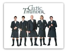 Celtic Thunder, the World renowned Irish music group created by show producer Sharon Browne has performed live to over million people, ON TOUR NOW! I Love Music, Music Tv, Music Bands, Ryan Kelly, Celtic Music, Celtic Thunder, Men In Kilts, Irish Dance, Irish Songs