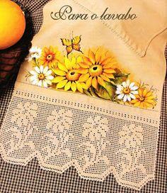 PINK ROSE CROCHET: Filet Crochet Sunflower Filet Crochet