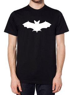 Bat Mens Womens HALLOWEEN Tshirt Top Tee Scary