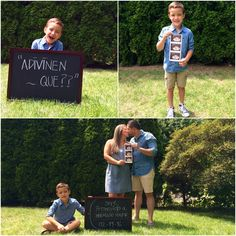 Announce pregnancy! Promovido a hermano mayor!
