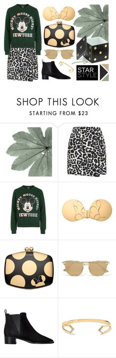 """""""Star Style"""" by cherieaustin ❤ liked on Polyvore featuring New Look, Topshop, Sephora Collection, Le Specs, Acne Studios, Elizabeth and James and L'Objet"""