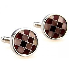 Share this with your friends and receive a 5% copon.Click here to wirte your message. Novelty Coffee Checked Cufflinks