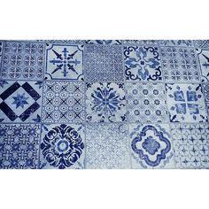 Geometria #rajoles #art #terra #blau #tile #tileaddiction #vintagestyle #depeusaterra by ingridbt5