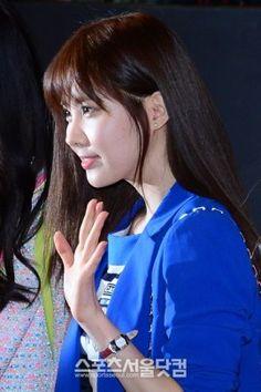 Hyoyeon Tiffany and Seohyun at G.I. Joe 2 Premiere