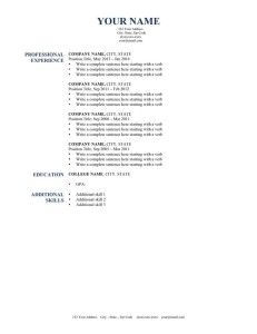 resume samples from harvard