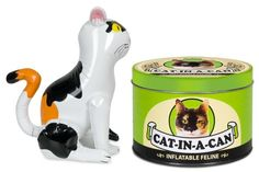 Cat In a Can - Inflatable Cat