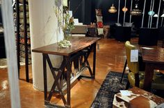 Four Hands...Industrial designed console table.