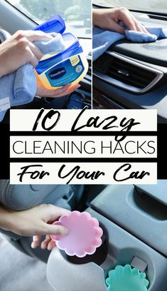 Keeping the car clean and organized can be a big ask when you're so busy. These 10 budget-friendly car cleaning tips will help you keep that car on your drive organized at all times!