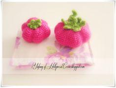 Hollywood Cerise: Amigurumi: A Big Crazy Pink Tomato...free pattern!