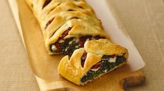 This Bake-Off® Monthly Challenge winning appetizer recipe is beautifully easy, with an Italian-inspired filling braided inside easy refrigerated crescent dough. From Laura Lufkin, Bake-Off® Monthly Challenge.