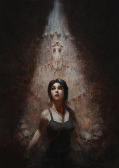 Tomb Raider: Reborn by Veshkau. Concept Character Illustration Inspiration