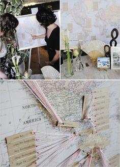 Idée de présentation pour vos plans de table - La Mariée en Colère Blog Mariage, grossesse, voyage de noces