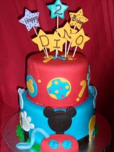 Mickey Mouse Clubhouse cake CJ wants this for his Birthday LOL. He is dreaming!