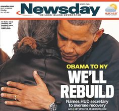 president obama on front of newspapers