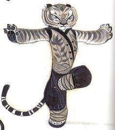 Art of Nico Marlet | Kung Fu Panda
