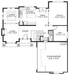 Spacious Northwest Home Plan - 23051JD | Craftsman, Northwest, Photo Gallery, 2nd Floor Master Suite, CAD Available, Den-Office-Library-Study, PDF, Narrow Lot | Architectural Designs