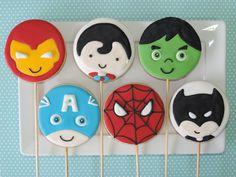 Biscoitos Decorados Palito Personagens   Sugar Kisses Biscoitos Decorados   Elo7