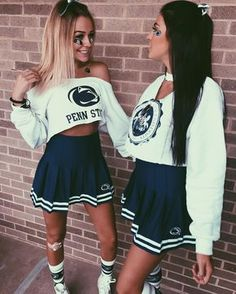 New Ideas party outfit college halloween costumes Best Friend Halloween Costumes, Halloween Kostüm, Halloween Parties, Girl Halloween Costumes College, Football Halloween Costume, Cute Halloween Outfits, Cheerleader Halloween, Women Halloween, Tailgate Outfit