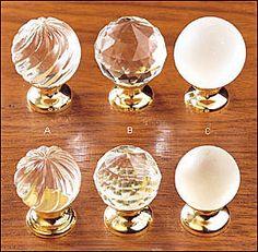 Lee Valley crystal knobs