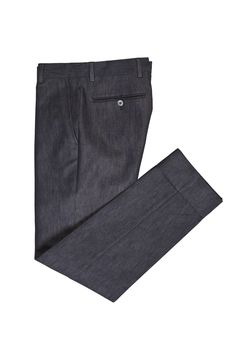 Tonello Man AW 2015-2016 Unwashed denim trousers with no darts. Discover the new collection on www.tonello.net