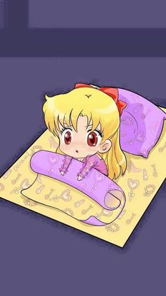 Sailor Venus, she's so cute!