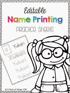 355 Best Name Activities for Preschool images in 2019