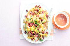 1 augustus - Paprikamix in de bonus - Spaanse krielsalade: lekker pittig door de chorizoworst - Recept - Allerhande