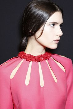 Valentino fw14 // lovely cutout details