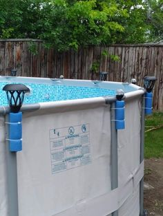 Above Ground Pool Landscaping, Backyard Pool Landscaping, Best Above Ground Pool, In Ground Pools, Jacuzzi, Pool Deck Plans, Outside Pool, Pool Care, Pool Installation