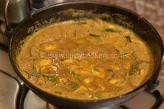 Chettinad Mushroom Curry | http://spicycookery.com/chettinad-mushroom-curry-recipe