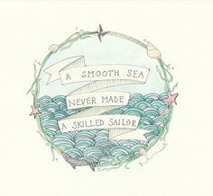 potential quote for old school boat tattoo
