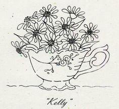 """Tea Party """"Kelly"""" Pattern"""