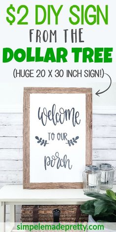 New Diy Home Decor Dollar Store Decorations Signs Craft Ideas Ideas