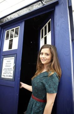 Doctor Who photo exclusive - Jenna-Louise Coleman as the new companion  See the Time Lord's new sidekick in and out of the Tardis in this Radio Times shoot