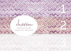 Download a Chevron Watercolor Pattern [create] | ballarddesigns.com