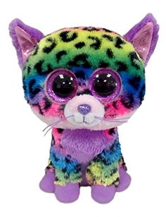 Ty Beanie Boos Trixie - Leopard (Justice Exclusive)