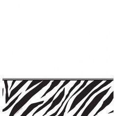 Mantel Zebra Print - Artículos de Fiesta
