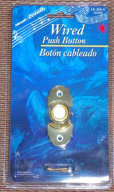 Door Bell Chime Wired White Push Button Solid Brass Lighted Recessed Mount  Sc 1 St Pinterest