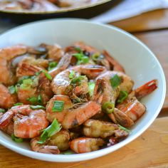 I was searching online for a shrimp recipe when I stumbled upon this delicious looking barbecued shrimp. Despite the name, the shrimp in this recipe are in fact sauteed and not grilled. They are sauteed with a sauce of Worcestershire sauce,white wine, spices and lots of butter, making this dish very flavorful. I used less...Read More »